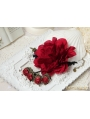 Red Gothic Rose Vintage Bracelet Ring Jewelry