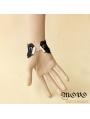Black Gothic Elegant Tassel Bracelet