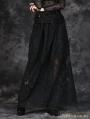 Black Simple H Shape Long Skirt