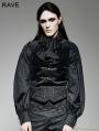 Black Jacquard Gothic Girdle