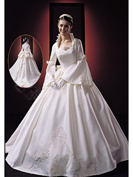 Victorian Wedding Dresses,Custom Victorian Wedding Gowns at ...