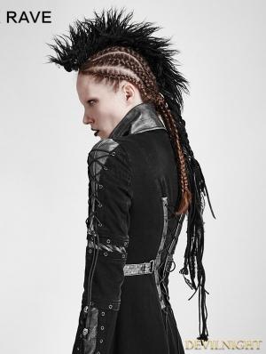 Black Gothic Punk Headwear