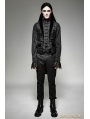 Gothic Fake Two Pieces Swallow Tail Vest for Men