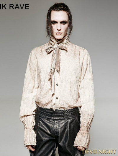 Do Old Style Retro Steampunk Tie Shirt for Men