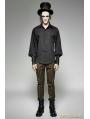 Steampunk Striped Shirt for Men