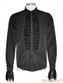 Black Gothic Classic Shirt for Men