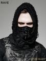 Black Gothic Punk Mask for Men