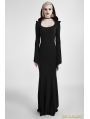 Black Gothic Dress with Hood
