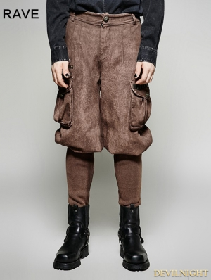 Coffee Steampunk Looser Trouser for Women