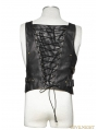Gothic Bronze Army Uniform Interlocks Stringing Vest for Men