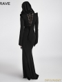 SALE!Black Gothic Dress with Hood
