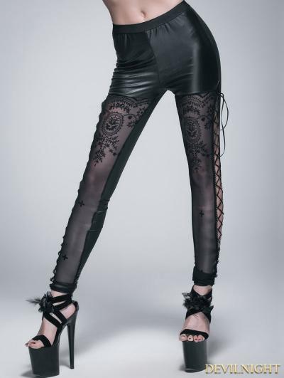 SALE!Black Gothic Legging for Women