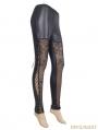 Black Gothic Legging for Women