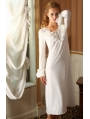 Long Sleeves Simple Medieval Chemise Dress