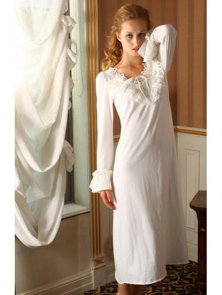 Long Sleeves Simple Medieval Chemise Dress Devilnight Co Uk