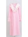 Long Sleeves Simple Medieval Chemise Dress