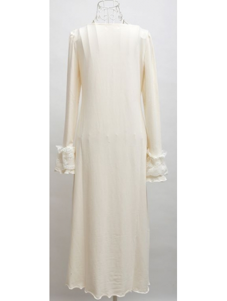 Long Sleeves Simple Medieval Chemise Dress - Devilnight.co.uk 565db087e
