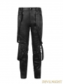 Black Gothic Slacks for Men