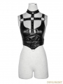 Black Gothic Punk Sexy Vest for Women
