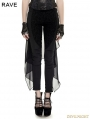 SALE!Black Gothic Forktail Trousers for Women