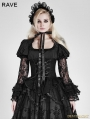 SALE!Black Gothic Lolita Lace Long Sleeves Shirt for Women