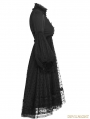 Black Gothic Lolita Puff Sleeves Dress