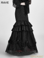 SALE!Black and Red Gothic Detachable Two-Wear Gothic Skirt