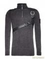 Steampunk Belt Sweater for Men