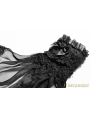 Black Gothic Lolita Accessories Gloves