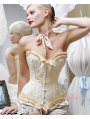 Victorian Burlesque Waist Training Overbust Corset