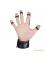 Black Gothic Punk Style Glove For Men