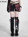 Two-piece Set Detachable Punk Style Pants For Women