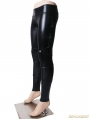Gothic Punk Women PU Leather Pencil Pants