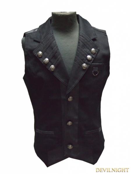 Military Vest Fashion Men