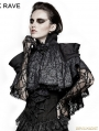 Black Lace Gothic Lolita Style Cape for Women