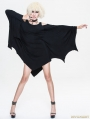 Black Dark Style Gothic Bat Dress