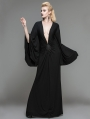 Black Gothic Persephone Maxi Dress