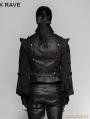 Black Gothic Century Palace Luxury Vest for Men