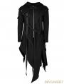 Black Gothic Darkly Punk Jacket for Men