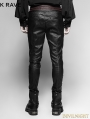 Black Gothic Vampire Piaget Bloody Decoy Trousers for Men