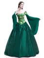 Green Fancy Theatrical Victorian Costume Dress