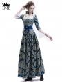 Victorian Civil War Queen Ball Gown Dress