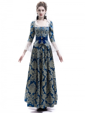 Victorian Civil War Queen Ball Gown Dress