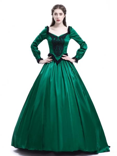 Green Victorian Dress