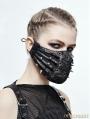 Black Gothic Punk Mask