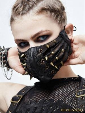 Bronze Gothic Punk Mask