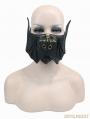 Bronze Gothic Punk Bat Style Mask