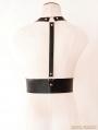 Black Leather Gothic Belt Body Harness
