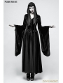 Black Gothic Dark Goddess Long coat for Women