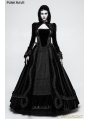 Black Gothic Velvet Short Jacket for Women